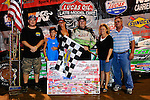 Aug 15, 2010; 1:05:57 AM; Union, KY., USA; TheSunoco Race Fuels North/South 100î running a 50,000-to-win event presented by Lucas Oil at Florence Speedway in Union, KY. Mandatory Credit: (thesportswire.net)