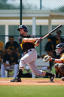 Pittsburgh Pirates Eric Wood (59) during an instructional league intrasquad black and gold game on September 18, 2015 at Pirate City in Bradenton, Florida.  (Mike Janes/Four Seam Images)
