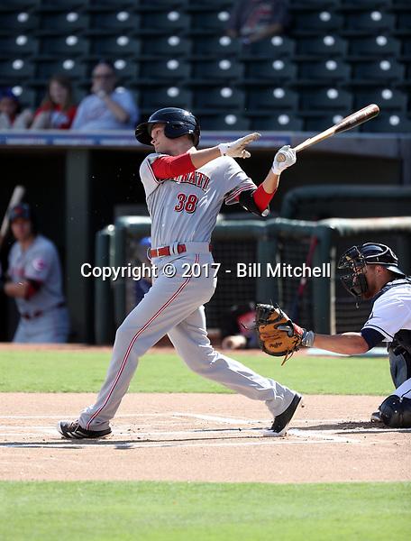 Brantley Bell - Scottsdale Scorpions - 2017 Arizona Fall League (Bill Mitchell)