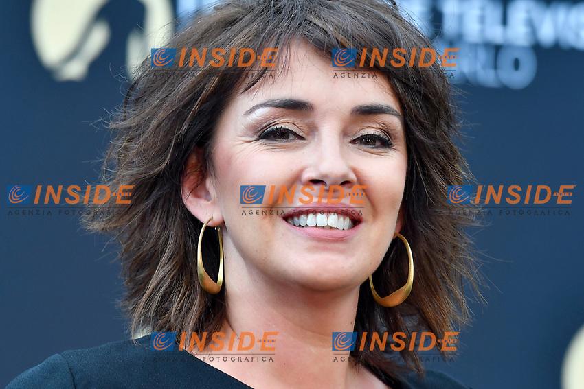 Stephanie Pareja (Plus belle la vie)<br /> Monaco - 20/06/2017<br /> 57 festival TV Monte Carlo <br /> Foto Norbert Scanella / Panoramic / Insidefoto