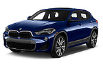 2019 BMW X2 xDrive28i 5 Door SUV angular front stock photos of front three quarter view