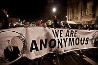 "05.11.2012 - Anonymous UK presents: ""Operation Vendetta"""