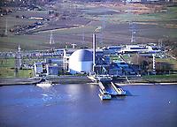 Deutschland, Niedersachsen, AKW Stade, Elbe, Atomkraftwerk