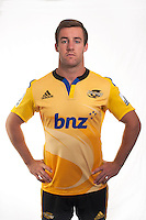 Mark Abbott. Hurricanes Super Rugby official headshots at Rugby League Park, Wellington, New Zealand on Tuesday, 13 January 2015. Photo: Dave Lintott / lintottphoto.co.nz
