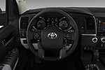 Car pictures of steering wheel view of a 2018 Toyota Sequoia SR5 Auto 5 Door SUV