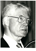 Frederick Burbidge , chairman of Canadian Pacific, May 6, 1981<br /> <br /> <br /> PHOTO : Agence Quebec Presse