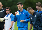 St Johnstone Pre-Season Training in Northern Ireland.. 08.07.16<br />Graham Cummins<br />Picture by Graeme Hart.<br />Copyright Perthshire Picture Agency<br />Tel: 01738 623350  Mobile: 07990 594431