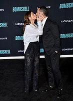 """LOS ANGELES, USA. December 11, 2019: Ashley Greene & Paul Khoury at the premiere of """"Bombshell"""" at the Regency Village Theatre.<br /> Picture: Paul Smith/Featureflash"""