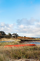 Canoe, Boat Meadow Creek, Orleans, Cape Cod, MA, Massachusetts , USA