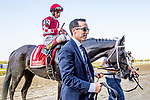 SEPT 28, 2019 :  Midnight Bisou with John Velazquez, wins the $300,000 Beldame Stakes, for fillies & mares, at 1 1/8 mile, at Belmont Park, in Elmont, NY, Sept 7, 2019. Sue Kawczynski_ESW_CSM,