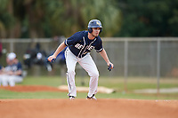 Bethel Wildcats right fielder Trey Kocher (32) during the first game of a double header against the Edgewood Eagles on March 15, 2019 at Terry Park in Fort Myers, Florida.  Bethel defeated Edgewood 6-0.  (Mike Janes/Four Seam Images)