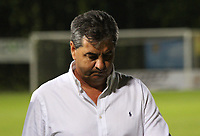 BOGOTA - COLOMBIA, 19-10-2017:Jorge Da Silva , director técnico del América de Cali , con preocupación abandona el campo de juego al final del partido contra Tigres FC , al cual no pudo ganarle y pierde posibilidades de seguir en la primera división del fútbol colombiano. Acción de juego entre los equipos  Tigres FC  contra el América de Cali  , durante partido entre Tigres FC y América de Cali , de la fecha 15 por la Liga Aguila II 2017 en el estadio Metropolitano de Techo de Bogotá. / Jorge Da Silva, coach of América de Cali, with concern leaves the field at the end of the game against Tigres FC, a team that could not beat him and loses chances to remain in the first division of Colombian football.. Action game between Tigres FC  and America de Cali , during a match of the date 15nd for the Liga Aguila II 2017 at the Metroplitano de Techo Stadium in Bogota city. Photo: Vizzorimage / Felipe Caicedo / Staff
