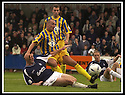 31/8/02       Collect Pic : James Stewart                     .File Name : stewart-falkirk v qots 06.STEVEN BOWIE CLEARS FROM FALKIRK'S ANDY LAWRIE....James Stewart Photo Agency, 19 Carronlea Drive, Falkirk. FK2 8DN      Vat Reg No. 607 6932 25.Office : +44 (0)1324 570906     .Mobile : + 44 (0)7721 416997.Fax     :  +44 (0)1324 570906.E-mail : jim@jspa.co.uk.If you require further information then contact Jim Stewart on any of the numbers above.........