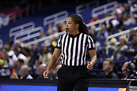 GREENSBORO, NC - MARCH 05: Official Talisa Green during a game between Pitt and Georgia Tech at Greensboro Coliseum on March 05, 2020 in Greensboro, North Carolina.