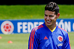Colombia Soccer training Copa America 2019