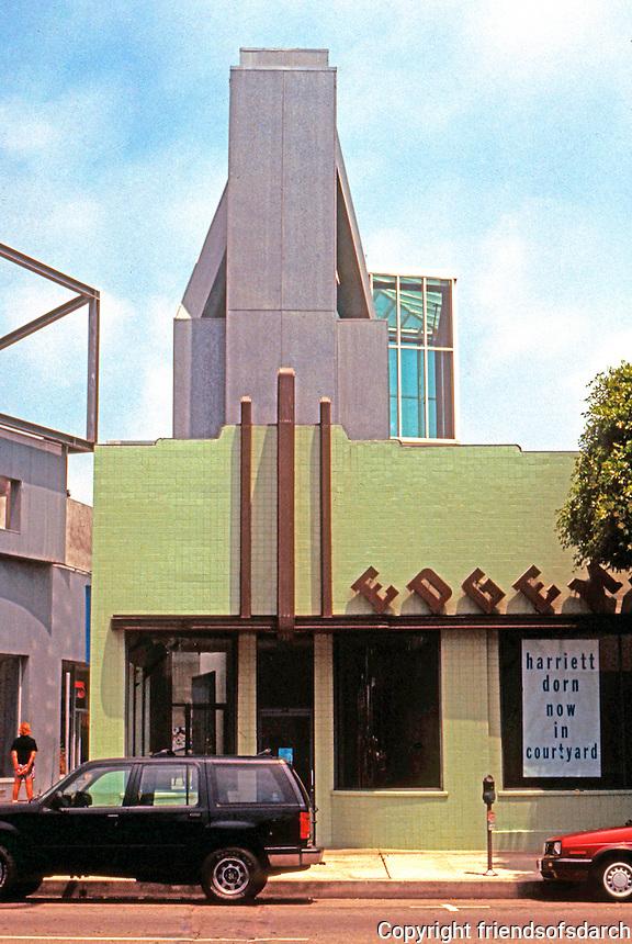 Frank Gehry: Edgemar Center, 1988.  Photo '91.