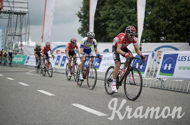 Maxime Monfort (BEL/Lotto-Soudal)<br /> <br /> Belgian National Road Cycling Championships 2016<br /> Les Lacs de l'Eau d'Heure