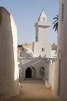 Libya, Ghadames. Berber architecture.  World Heritage Site.