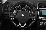 Car pictures of steering wheel view of a 2017 Mitsubishi Outlander-Sport GT 5 Door SUV Steering Wheel
