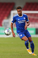 5th September 2020; PTS Academy Stadium, Northampton, East Midlands, England; English Football League Cup, Carabao Cup, Northampton Town versus Cardiff City; Josh Murphy of Cardiff City