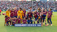 EAST HARTFORD, CT - JULY 5: The USWNT poses for a photo during a game between Mexico and USWNT at Rentschler Field on July 5, 2021 in East Hartford, Connecticut.