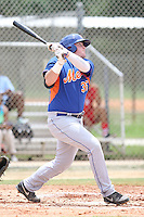 GCL Mets Dash Winningham (35) at bat during a game against the GCL Cardinals on July 7th, 2014 at the Roger Dean Complex in Jupiter, Florida. GCL Mets defeated GCL Cardinals 6-2. (Stacy Jo Grant/Four Seam Images)