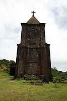 Ruins of Bokor ghost town on a foggy day<br /> , Cambodia<br /> <br /> PHOTO :  Agence Quebec Presse<br /> <br /> <br /> <br /> <br /> <br /> PHOTO : Agence Quebec Presse