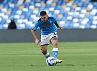 11th September 2021; Maradona Stadium, Naples, Italy; Serie A football, SSC Napoli versus Juventus  FC: Matteo Politano of Napoli