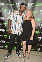MIAMI, FLORIDA - JUNE 03: James McNair and Samantha Lepovetsky attends The Money Team Fight Weekend Kickoff at Victory Restaurant and Lounge on June 03, 2021 in Miami, Florida. ( Photo by Johnny Louis / jlnphotography.com )