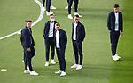 22.06.2021 Croatia v Scotland: Scotland players walkabout on the pitch pre-match