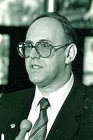 Montreal (qc) CANADA - file Photo - 1990 - <br /> <br /> <br />  - Sid Stevens, Sun Youth-Jeunesse au Soleil