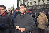 Francesco Caruso, leader noglobal