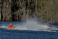 Frame 1: Serena Durr 96-F, Erin Pittman 6-H crash. (Outboard Hydroplanes)