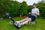 Trevor Leen from Ardfert is doing a rowing fundraiser for Mental Health Awareness and  Trevor will row 10k during the month of May.