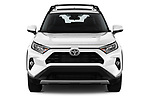Car photography straight front view of a 2019 Toyota RAV4 Limited 5 Door SUV