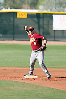 Pierce Trumper, Rocky Mountain High School, playing in the Horizon High School spring tournament in Scottsdale, AZ - 03/31/2010..Photo by:  Bill Mitchell/Four Seam Images