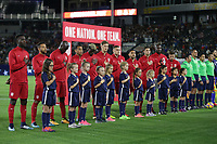 Carson, CA - Sunday January 28, 2018: United States (USA) during an international friendly between the men's national teams of the United States (USA) and Bosnia and Herzegovina (BIH) at the StubHub Center.