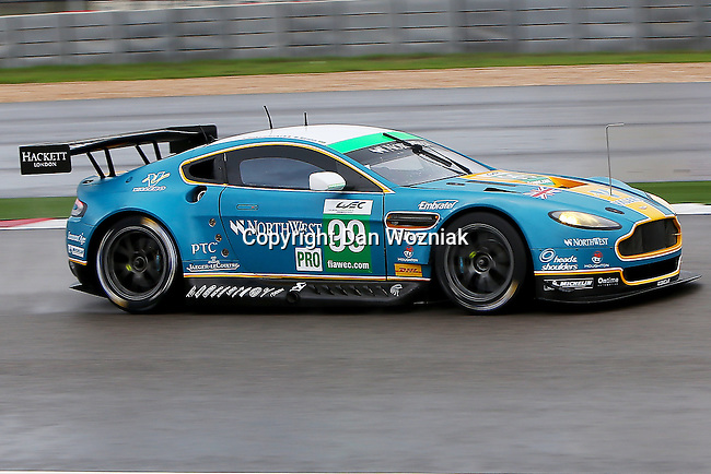 Bruno Senna (99), Aston Martin Racing driver in action during the ALMS/WEC practice sessions at the Circuit of the Americas race track in Austin,Texas.