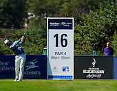 Alejandro CANIZARES (ESP) during the quarter final round of the Aberdeen Asset Management Paul Lawrie Matchplay being played over the Fidra Links at Archerfield, East Lothian from 4th to 7th August 2016:  Picture Stuart Adams, www.golftourimages.com: 06/08/2016