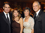 From left: Dr. Guillermo Torre and his wife Maru with Judy and Ron Girotto at the Leading Hearts Gala VIP Reception at the Skyline Ballroom at the Hilton Americas downtown Saturday Oct. 24,2009. (Dave Rossman/For the Chronicle)