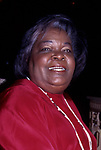 Vernita Lee, mother of Oprah Winfrey, attends the Academy of Television Arts and Sciences' Hall of Fame at the Walt Disney World on October 1, 1994 in Orlando, Florida.
