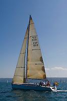 ESP 1669 AIDA ROSA Jesús Nazareno Garcia Valdes FIRST 40 CN Canet d'en Berenguer<br /> Salida de la 22 Ruta de la Sal 2009 Versión Este, Denia, Alicante, España