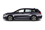 Car driver side profile view of a 2017 Subaru Levorg GT-S Premium 5 Door Wagon