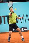 Japanese Kei Nishikori during Mutua Madrid Open Tennis 2016 in Madrid,  May 06, 2016. (ALTERPHOTOS/BorjaB.Hojas)