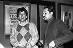 GIGI PROIETTI E VITTORIO GASSMAN -  ROMA 1980