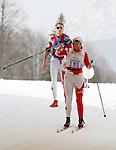 Margarita Gorbounova and Andrea Bundon, Sochi 2014. Para Nordic Skiing // Ski paranordique.<br />