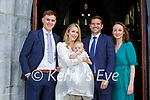 Alexander Murray celebrated his christening with her parents Brian Murray Spa Tralee and Sarah Murray and god parents Ciaran Murray and Audrey Whyte in St Mary's Cathedral on Sunday