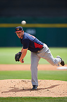 Toledo Mudhens pitcher Chad Bell (29) during a game against the Buffalo Bisons on May 18, 2016 at Coca-Cola Field in Buffalo, New York.  Buffalo defeated Toledo 7-5.  (Mike Janes/Four Seam Images)