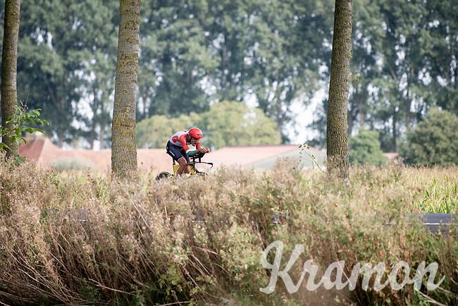 António Morgado (POR)<br /> <br /> Junior Men Individual Time Trial from Knokke-Heist to Bruges (22.3 km)<br /> <br /> UCI Road World Championships - Flanders Belgium 2021<br /> <br /> ©kramon