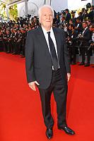 Andre Dussolier sur le tapis rouge pour la soirée dans le cadre de la journée anniversaire de la 70e édition du Festival du Film à Cannes, Palais des Festivals et des Congres, Cannes, Sud de la France, mardi 23 mai 2017.